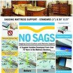 sagging mattress fix
