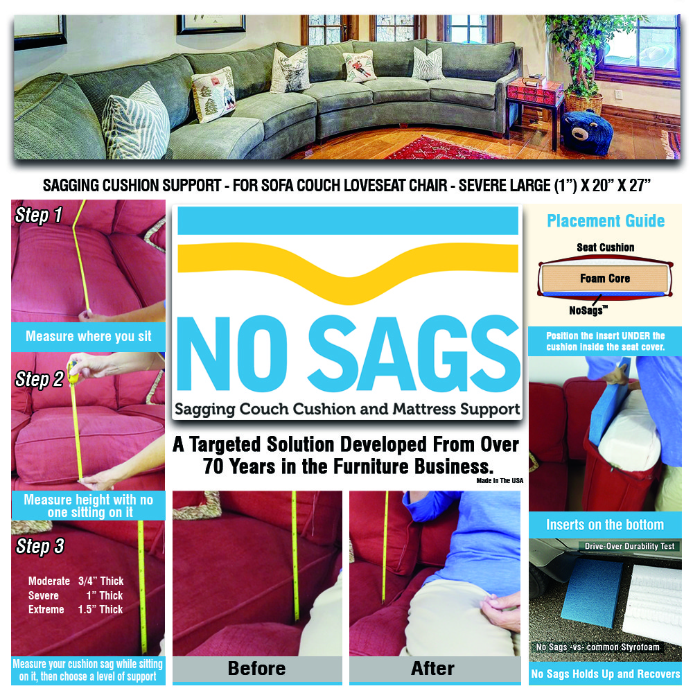 Sagging Couch Cushion And Mattress